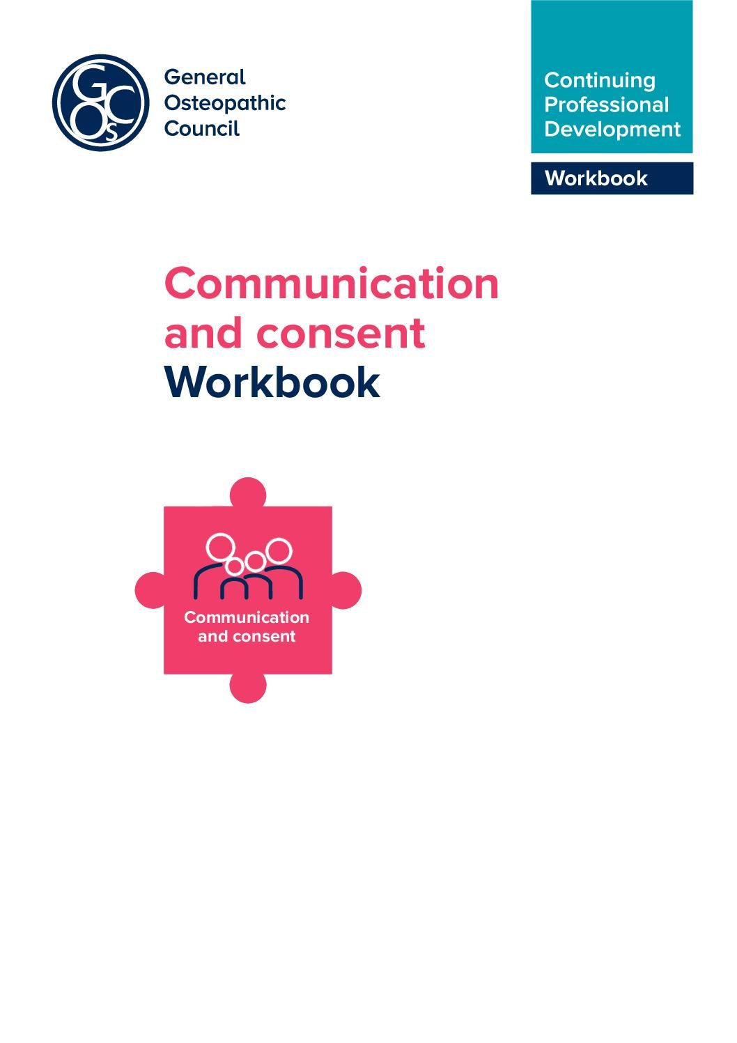 Communication and consent Workbook